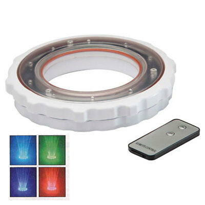 Ocean Blue LED Light Kit W/Remote For Existing 3-Tier Pool Fountain 180021