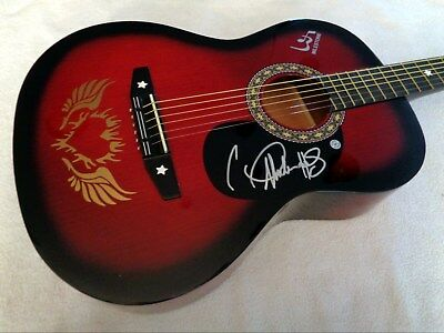 CARRIE UNDERWOOD Signed Autographed Acoustic Guitar w/ COA, NEW!  NO RESERVE!