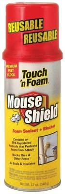 "New Touch 'n Foam ""mouse Shield""  Expanding Foam Spray Sealant Blocker 8043283"