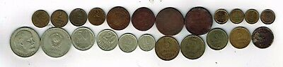 23 different coins from USSR Russia : 1811 - 1980