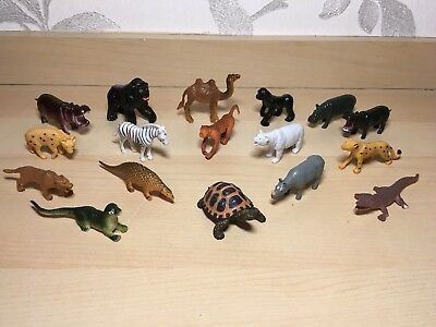 Zoo / Safari Animals Bundle - Figures Joblot! Lovely Toys Cake Toppers