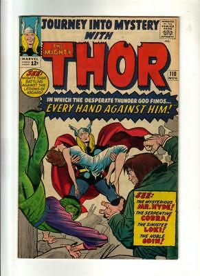 Journey into Mystery #110 - Thor by Jack Kirby  Marvel 1964
