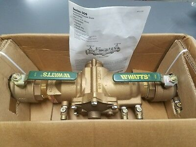 watts 2 inch series 009 reduced pressure zone assembly