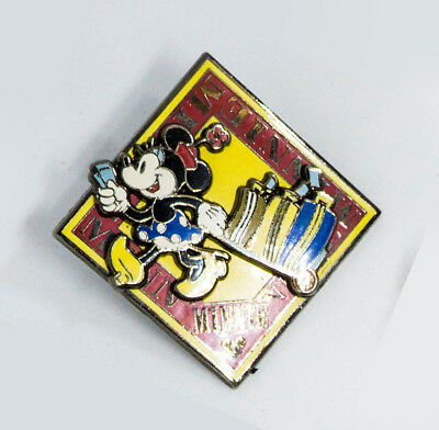 Disney 3D MINNIE MOUSE Vacation Travel Suitcase Luggage Pin 2009