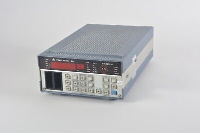 Rohde & Schwarz NRV 828.2511.02, 100 kHz to 18 GHz, 50/75 Ohm, Power Meter