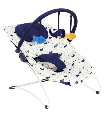 Whale Bay Baby Bouncer Chair