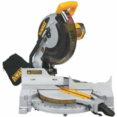 DEWALT DW713 15 Amp 10-Inch Compound Miter Saw (O10196-6)