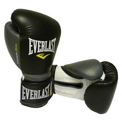 Everlast Equipment Powerlock Train Gloves Velcro Guantes combate