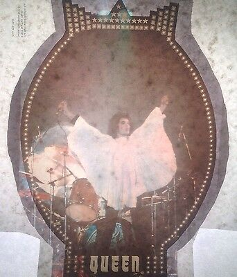 Vintage 70s Queen Freddie Mercury Iron-On Transfer Rock Icon RARE!