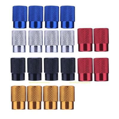 4pcs Schrader Auto Car Bicycle Bike Wheel Tire Tyre Valve Stem Caps Dust Covers