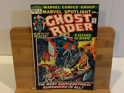 Marvel Spotlight #5 - 1972 Marvel Comics - 1st Appearance of Ghost Rider - VF/NM
