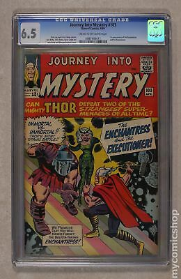 Thor (1962-1996 1st Series Journey Into Mystery) #103 CGC 6.5 0987489011