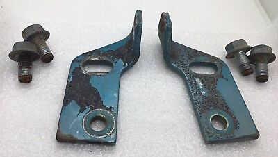 1966-71 International Scout 800 Tailgate Latch Striker Pair With Bolts