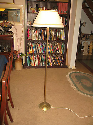 A Solid Brass Floor Lamp ...freight Available !