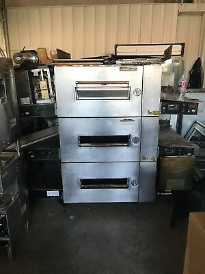 3 stack gas lincoln coveyor ovens