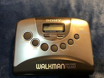 Sony Walkman Original Cassette Player Radio - Perfect Working Condition!