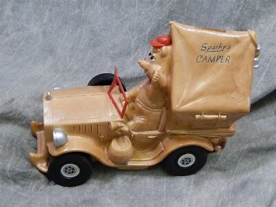 Uncommon Sparky's Camper Bank Gorgeous Condition