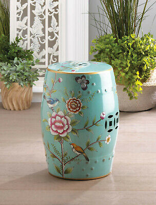 african asian elephant ceramic outdoor furniture stool end table plant stand
