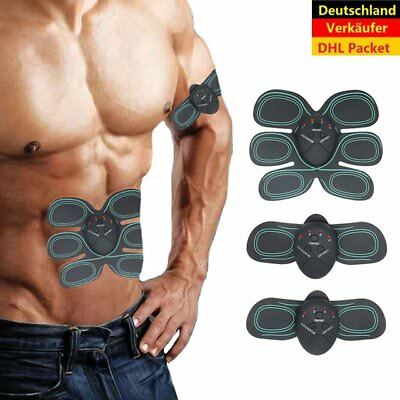 Smart sports ABS EMS-Bauchmuskel- & Sixpack-Muskeltrainer mit 6 Pads Fitness Set