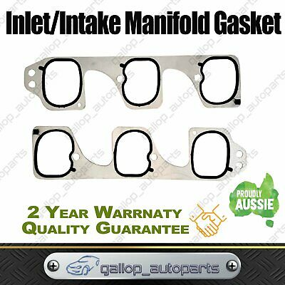 Suit Holden Inlet/intake Manifold Gasket Vz Ve Vf Commodore V6 3.6L Alloytec