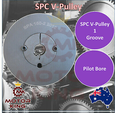 SPC V Belt Pulley with taper lock to suit 150mm to 400mm Diameter