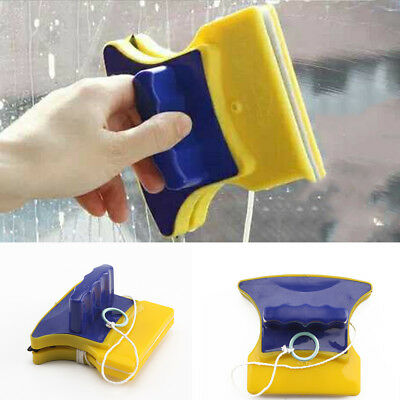 New Sturdy Safe Magnetic Window Magic Double Side Faced Glass Cleaner Wiper