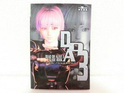 Dead Or Alive 3 Japan Guide Book Doa 2002 Xbox Tecmo Sega Game