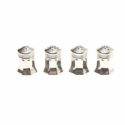 Cartier Sterling Silver 4 Shakers Set