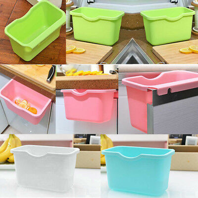 Environmental Hanging Kitchen Cabinet Door Trash Rack Style Storage Garbage Box