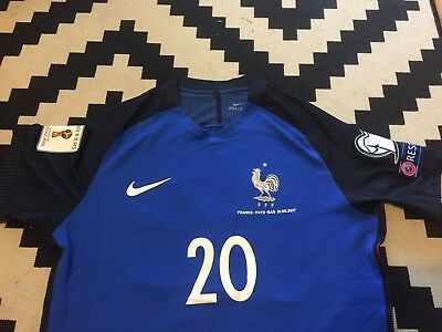 Promo Maillot France Pays Bas Qualif Mondial 2018 Mbappe L Player Version