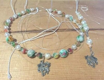 Bridle Decoration By JMe, Browband, Horse Jewelry, Horse Bling, Tie On Wire Wrap