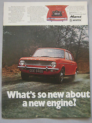 1969 Austin Maxi Original advert