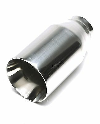 TA TECHNIX End pipe Stainless Steel Universal 3 15/16in Round / Smooth