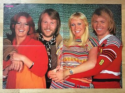 ABBA - FROM SWEDEN SWEDISH POSTER MAGAZINE 1970s #1-1978