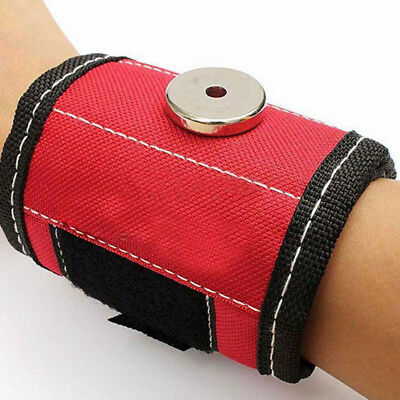 1Pcs Wristbands Protection Tool Support Magnetic Screw Belt Sports
