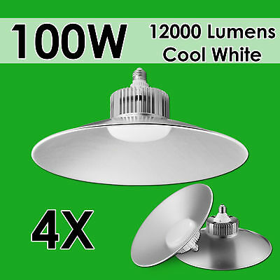 4X100W LED High Bay Light Commercial Warehouse Industrial Factory Shed Lamp 240V