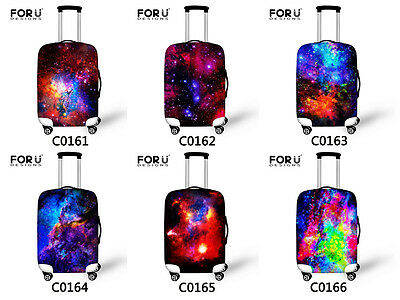 Galaxy Design Elastic Travel Suitcase Protector Luggage Cover 18 20 24 26 28inch