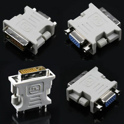 15 Pin 24+1 pin Adapter Video Converter for PC Laptop DVI-D Female Male to VGA