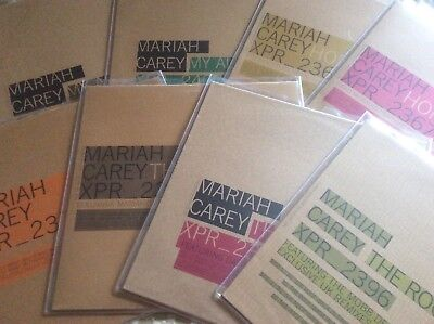 """Mariah  Carey - Butterfly - UK Complete Set Of 8 X 12"""" Promo Singles"""