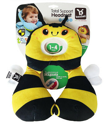 Baby Kid Child Stroller Car Seat Travel Positioner Head Neck Support Pillow BEE