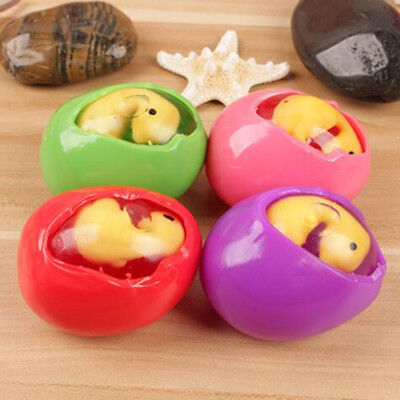 Funny Stresses Squeeze Toy Gadget Squishy Dinosaur Egg Yolk Stress Reliever