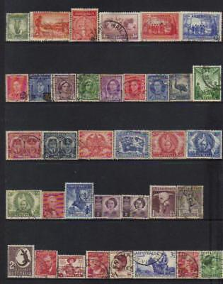 Australia 1934-1950 Used Selection