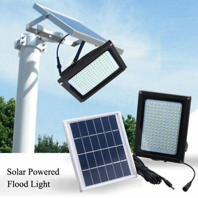 150 LED Solar Power Flood Light Sensor Motion Activated Outdoor Garden Lamp NEW