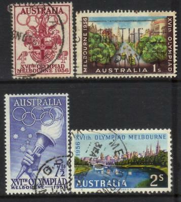 Australia 1936 Olympic Games Used Set Of 4