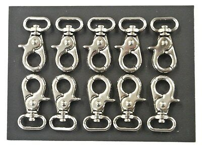 16mm Scissor Trigger Clips/Hooks,Clasp,Swivel,Nickel Plated For Dog Leads,Straps