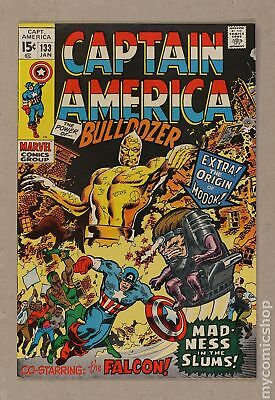 Captain America (1968 1st Series) #133 FN+ 6.5