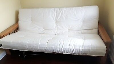 3 seater Cavendish futon  sofa bed solid wood frame