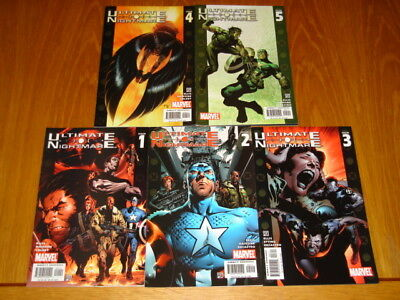 Ultimate Nightmare #1-5 Marvel Comics Cap America Set (5)