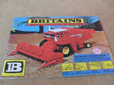 Britains Model Toy Catalogue 1978 + P/listuk Edition Excellent Condition