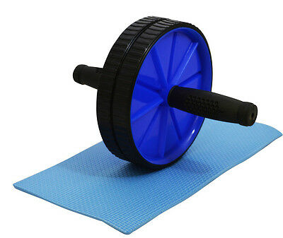 Abs Abdominal Roller Exercise Wheel Gym Fitness Body Machine Strength Training
